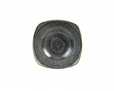 Studio Prints Charcoal Black Squared Bowl 56,8cl