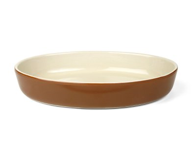 Form 26,5x18cm Provence oval Brun/Beige